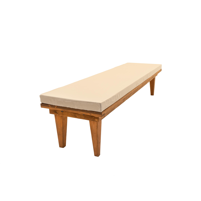 Admirable Calistoga Bench Machost Co Dining Chair Design Ideas Machostcouk