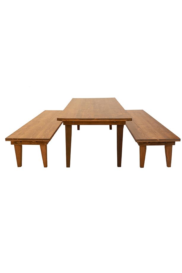 Strange Calistoga Bench Machost Co Dining Chair Design Ideas Machostcouk